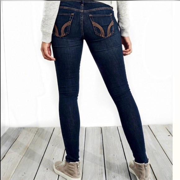 fec79faa46e0a HOLLISTER 3S W26 Low Rise Stretch Jean Legging NEW